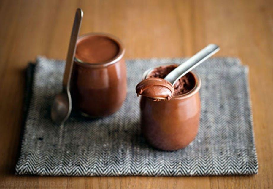 Nemme desserter på 5 minutter Chokolademousse