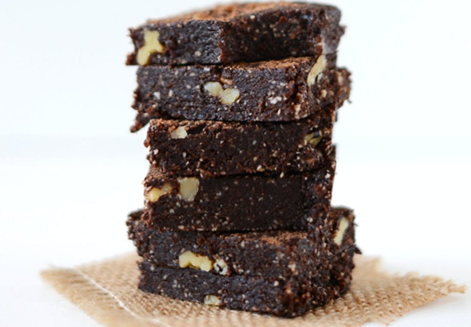 Nemme desserter på 5 minutter Denne brownie er jo nærmest sund