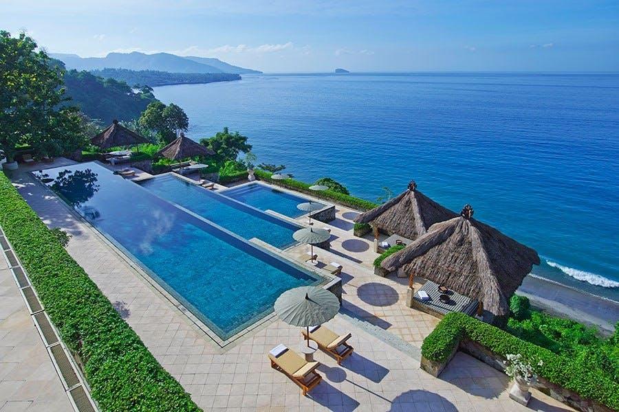 Besøg Balis klippe-pool
