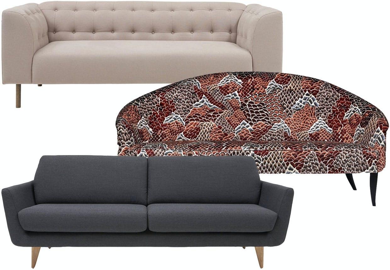 Nye og trendy sofaer.