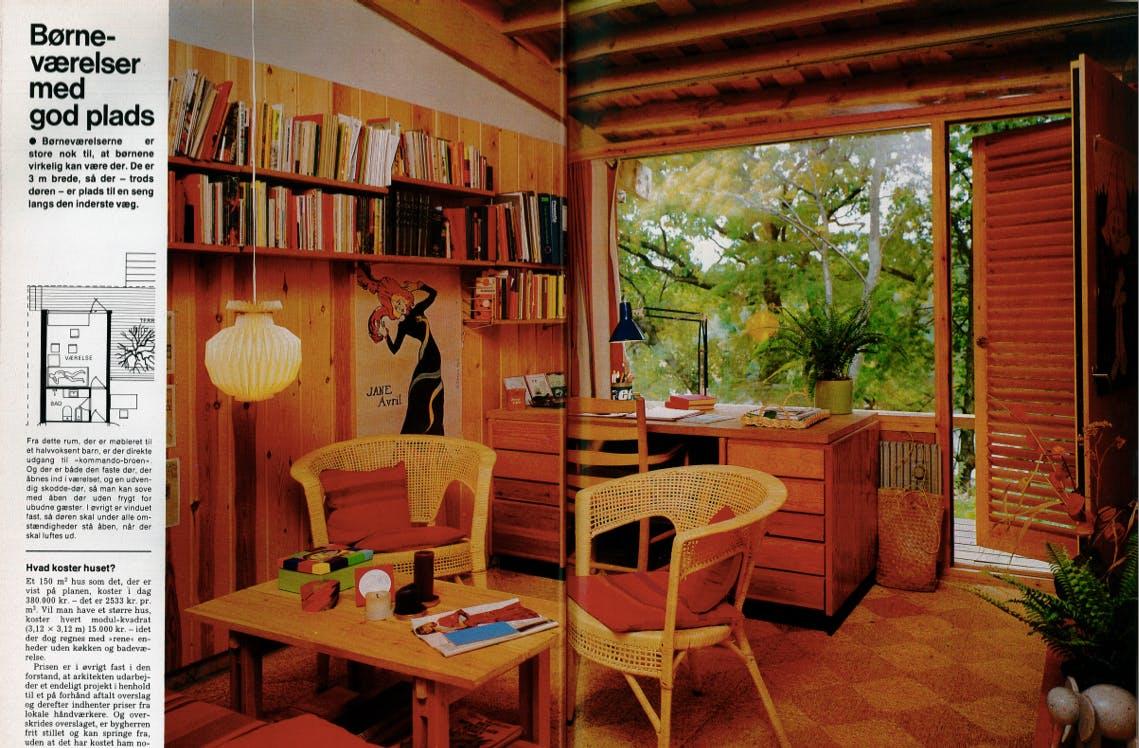 Træpaneler og slidstærke gulvtæpper