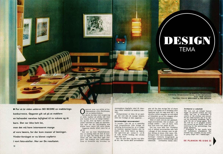 Design i 60'erne