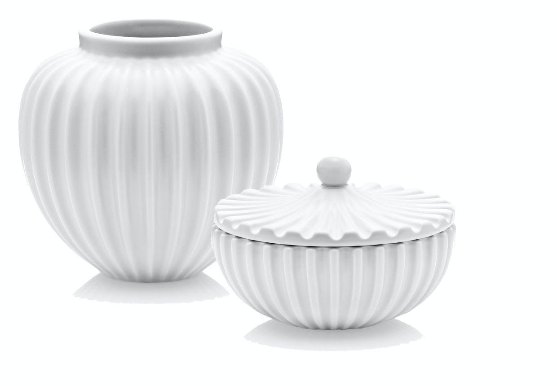 Vase og bonbonniere