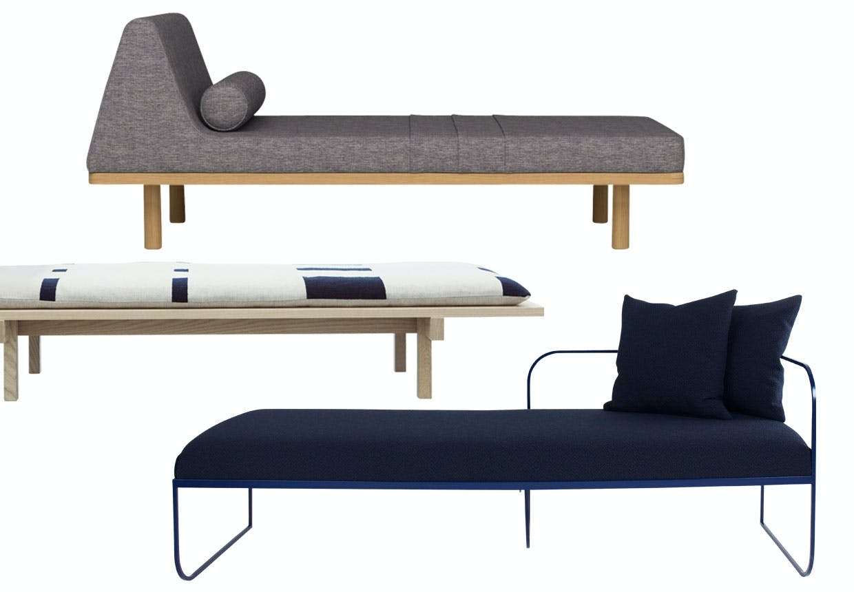 Tre daybeds