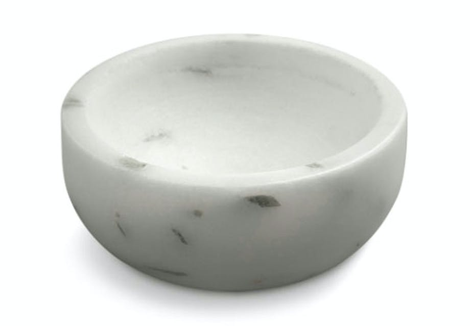 Marmor skål