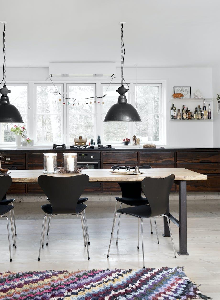 Rustikt køkken