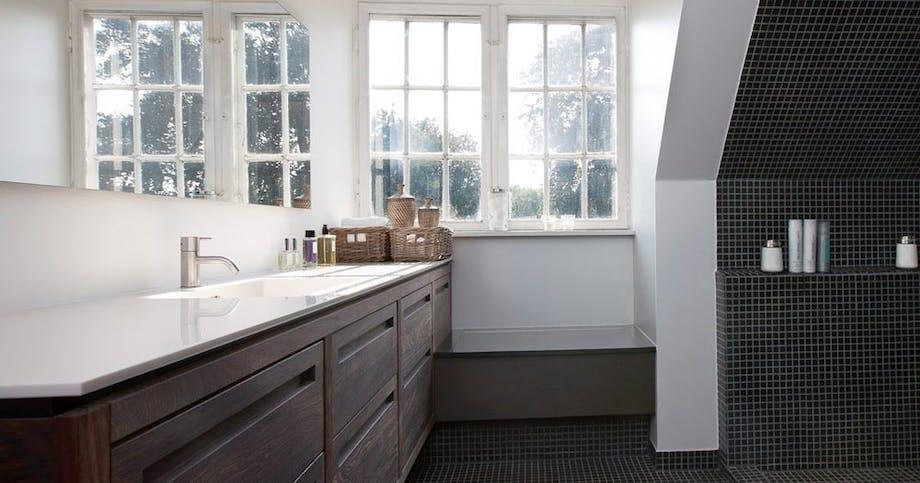 Charmerende badeværelse
