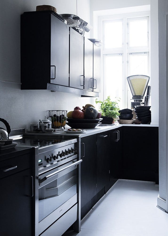 Skandinavisk, minimalistisk køkken