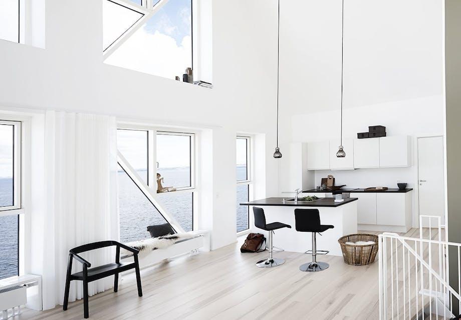 Køkkenet i Isbjerget