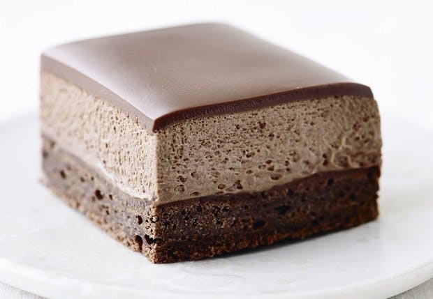 Dessert: Kage med chokolade og kaffe
