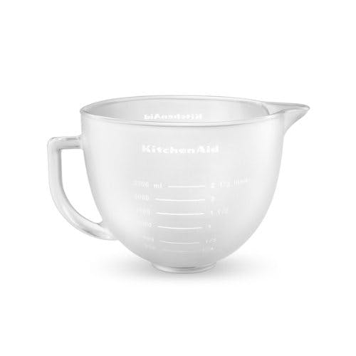 Glasskål til køkkenmaskine