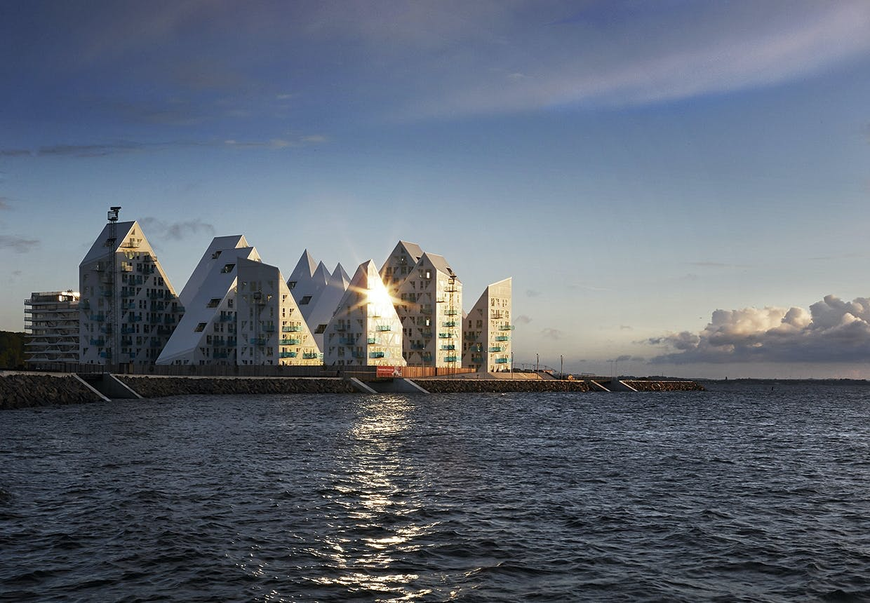 Reportage fra Isbjerget - det nye ikoniske byggeri ved Århus Havn