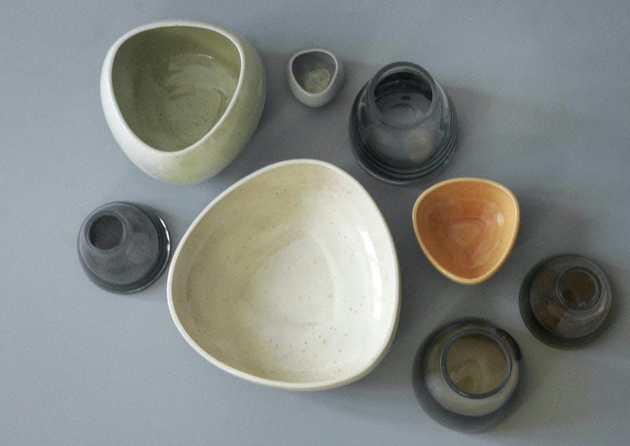 Skål og vase