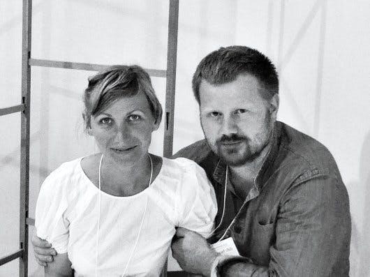 Line Depping og Jakob Jørgensen