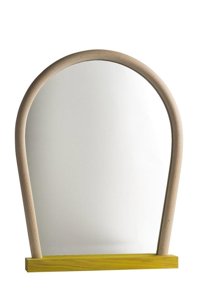 Bent Wood Mirror