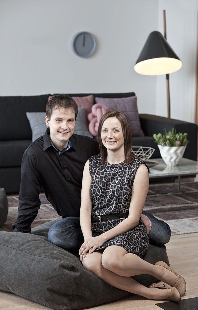 Månedens læserpar er Jeannette Bylov og Rasmus Salbøg