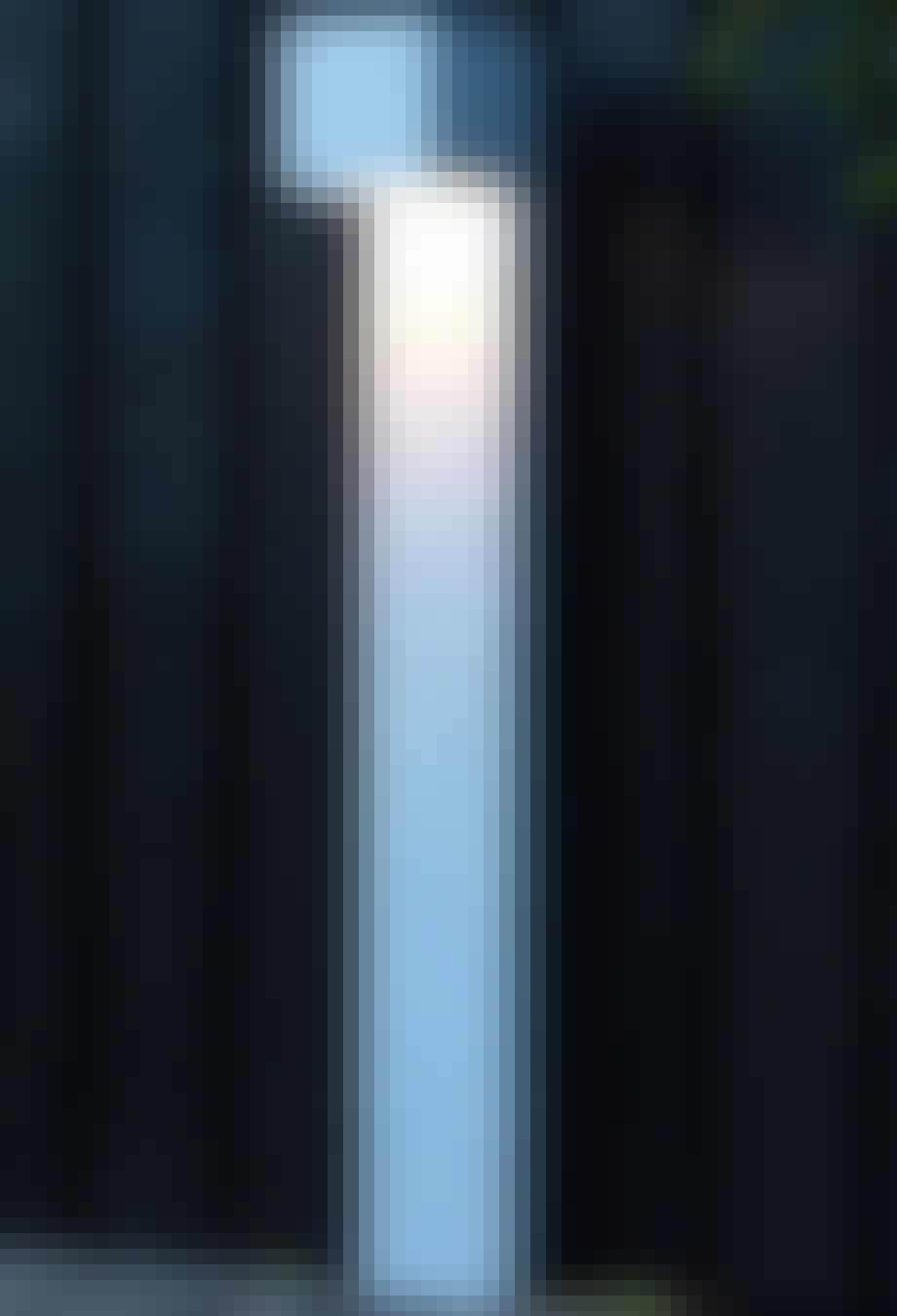 CUBE STAND LED WHITE (KOMPLET)