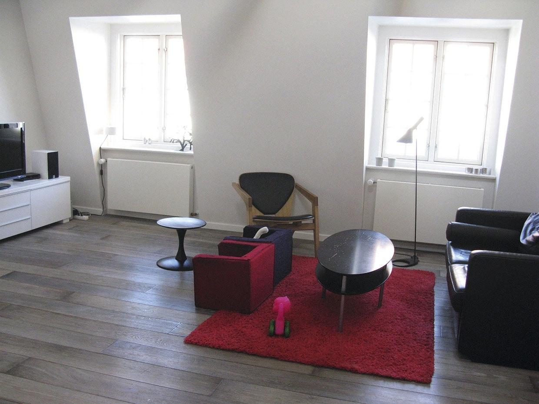 Lille Stue Med Meget Plads Bobedre Dk