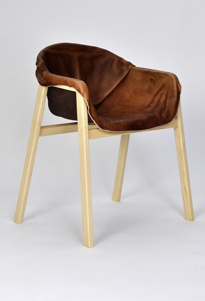 Hardened Leather Chair