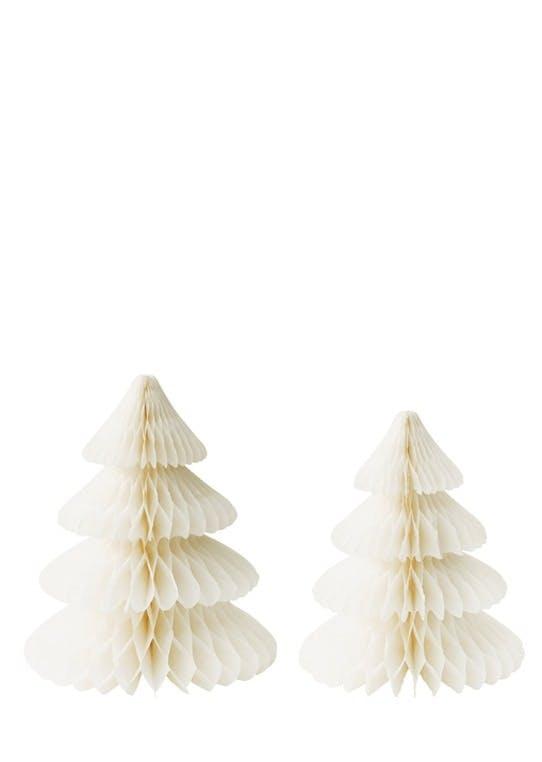 Juletræer i papir