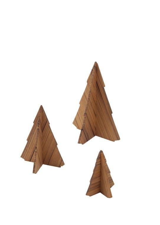 Træer i teak