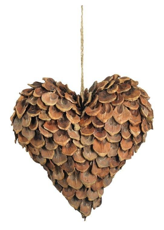 Hjerte af pinjekogle