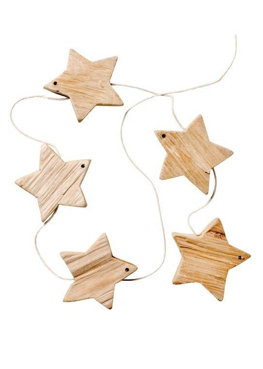 Guirlande med stjerner