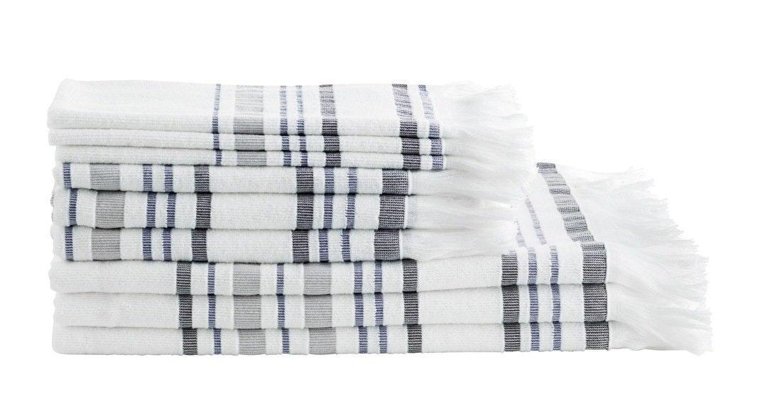 Stribede håndklæder
