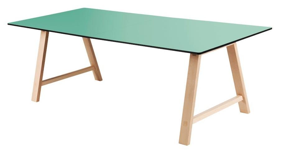 Spisebord, designet af duoen