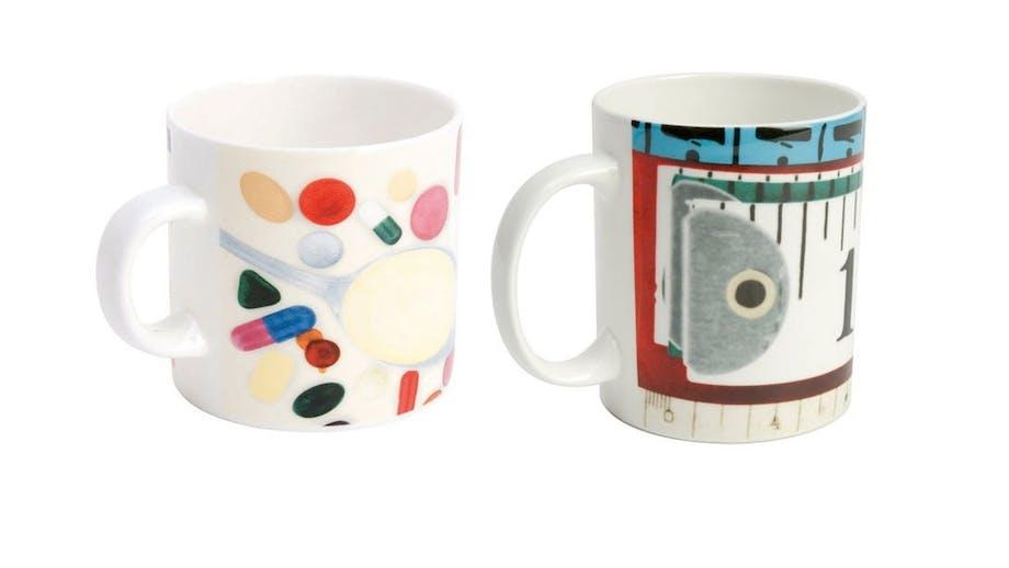 Eames-krus og espressokop