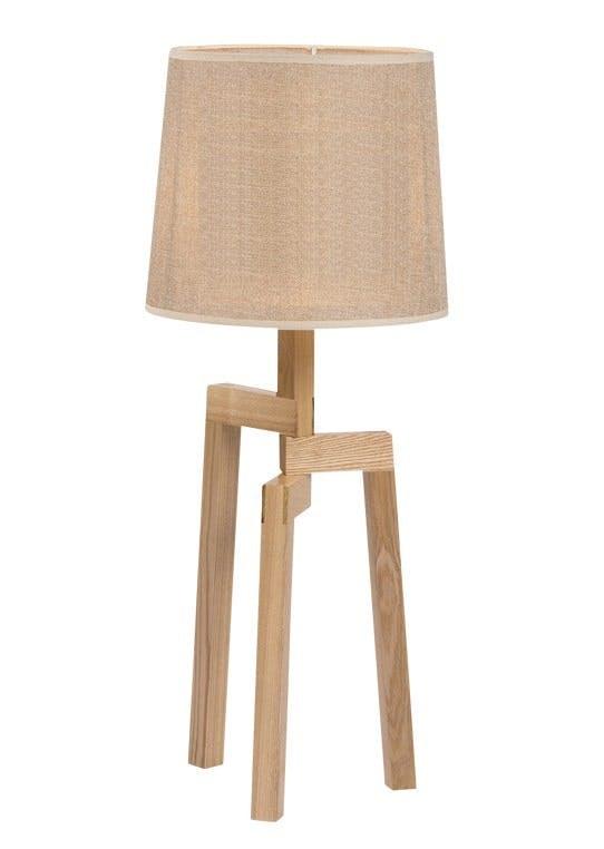Håndlavet bordlampe