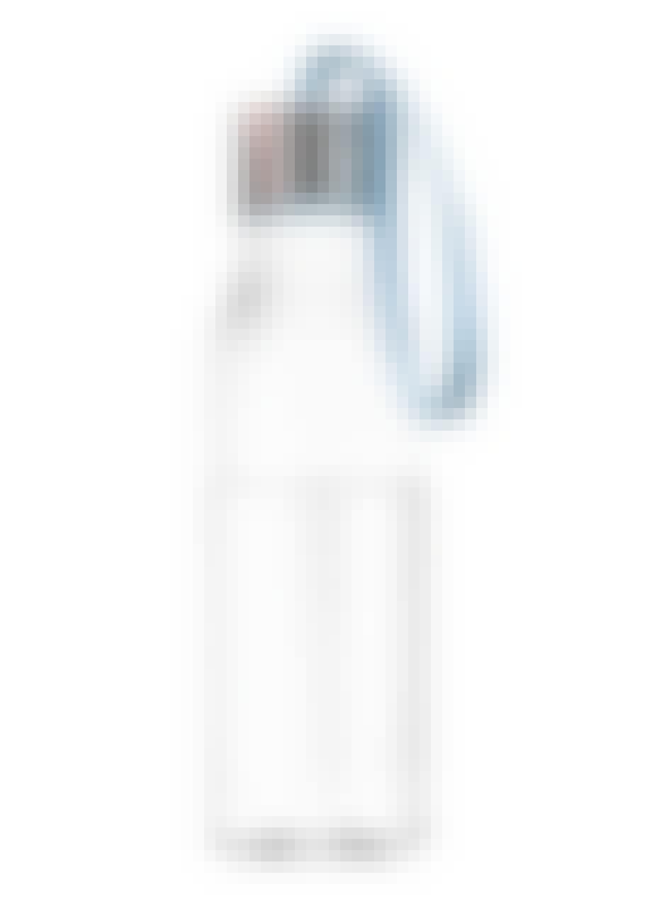 Vandflaske med blå rem