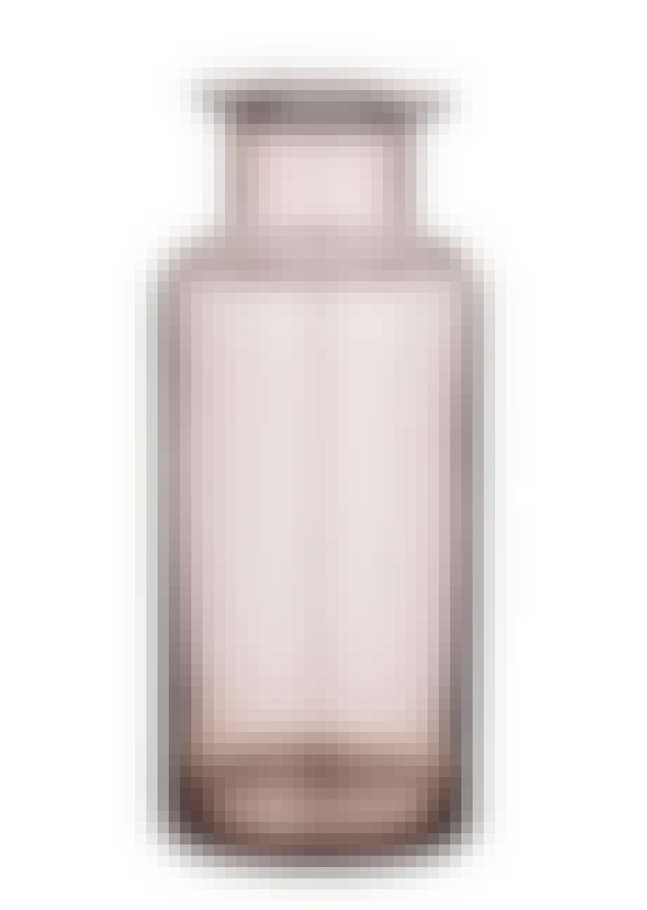 Lavendelfarvet vase