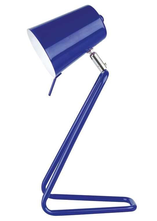 Bordlampe i lakeret metal