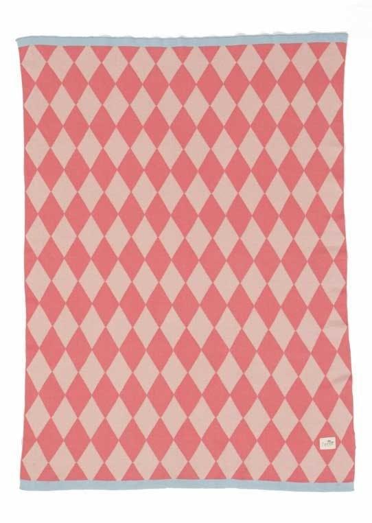 Strikket tæppe, Happy Harlequin