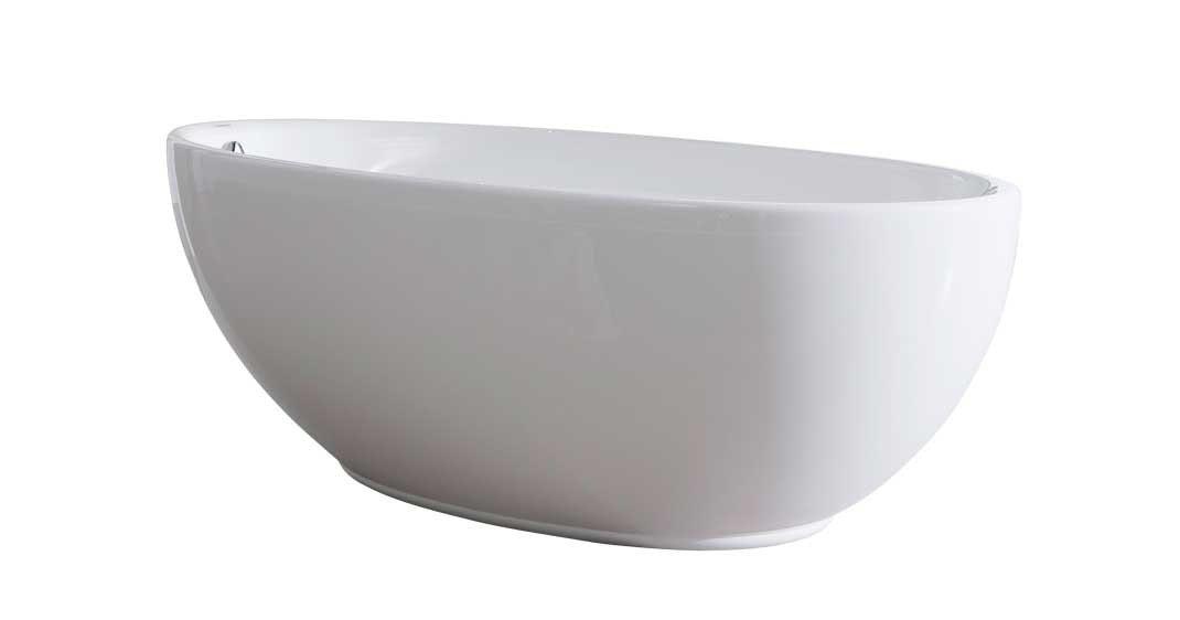 Friststående badekar