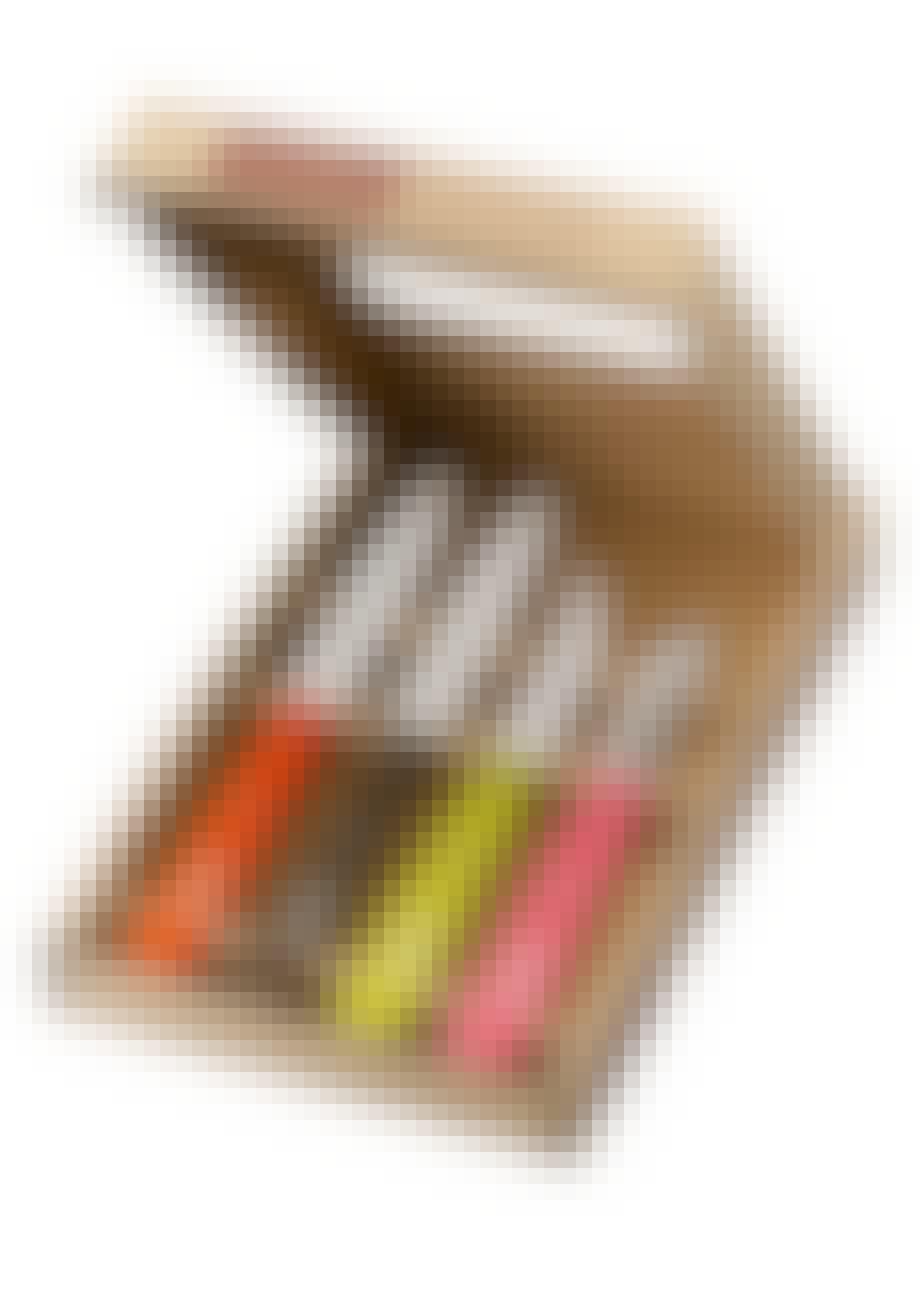 Tomatkniv, kartoffelskræller og urteknive