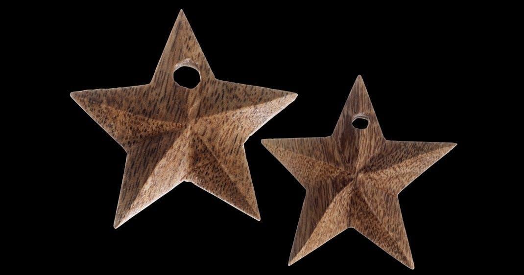 Stjerner i træ