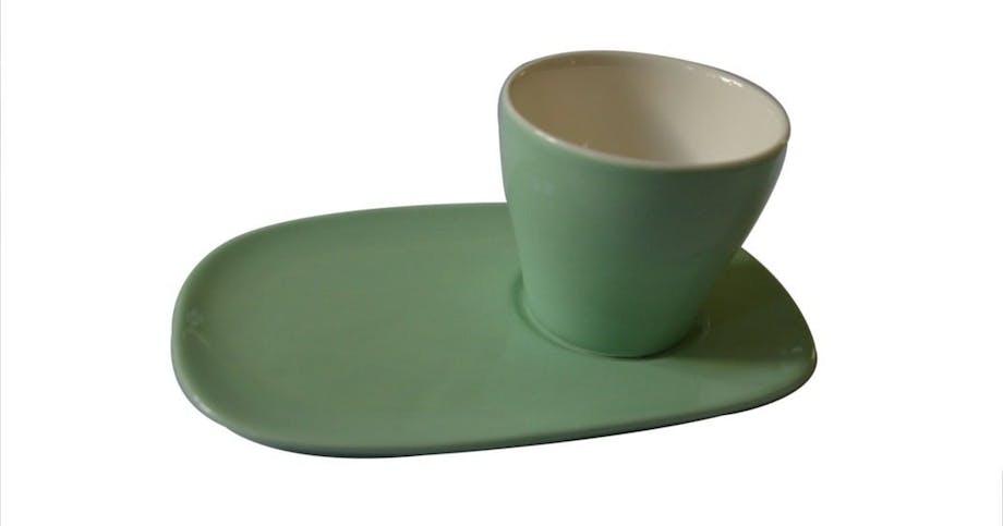 Kop og underkop/tallerken