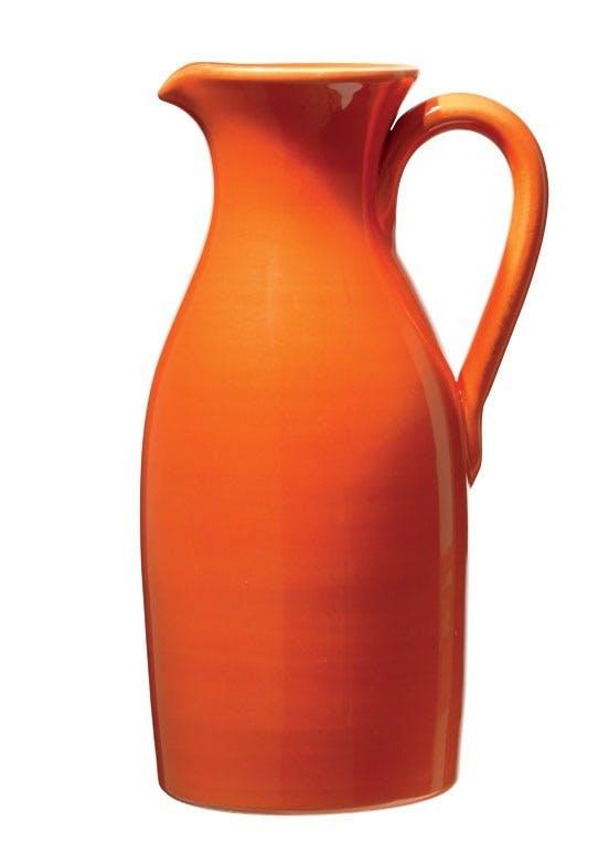 Håndlavet kande i keramik