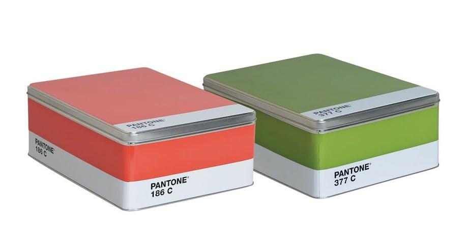 Opbevaringsbokse, Pantone Box