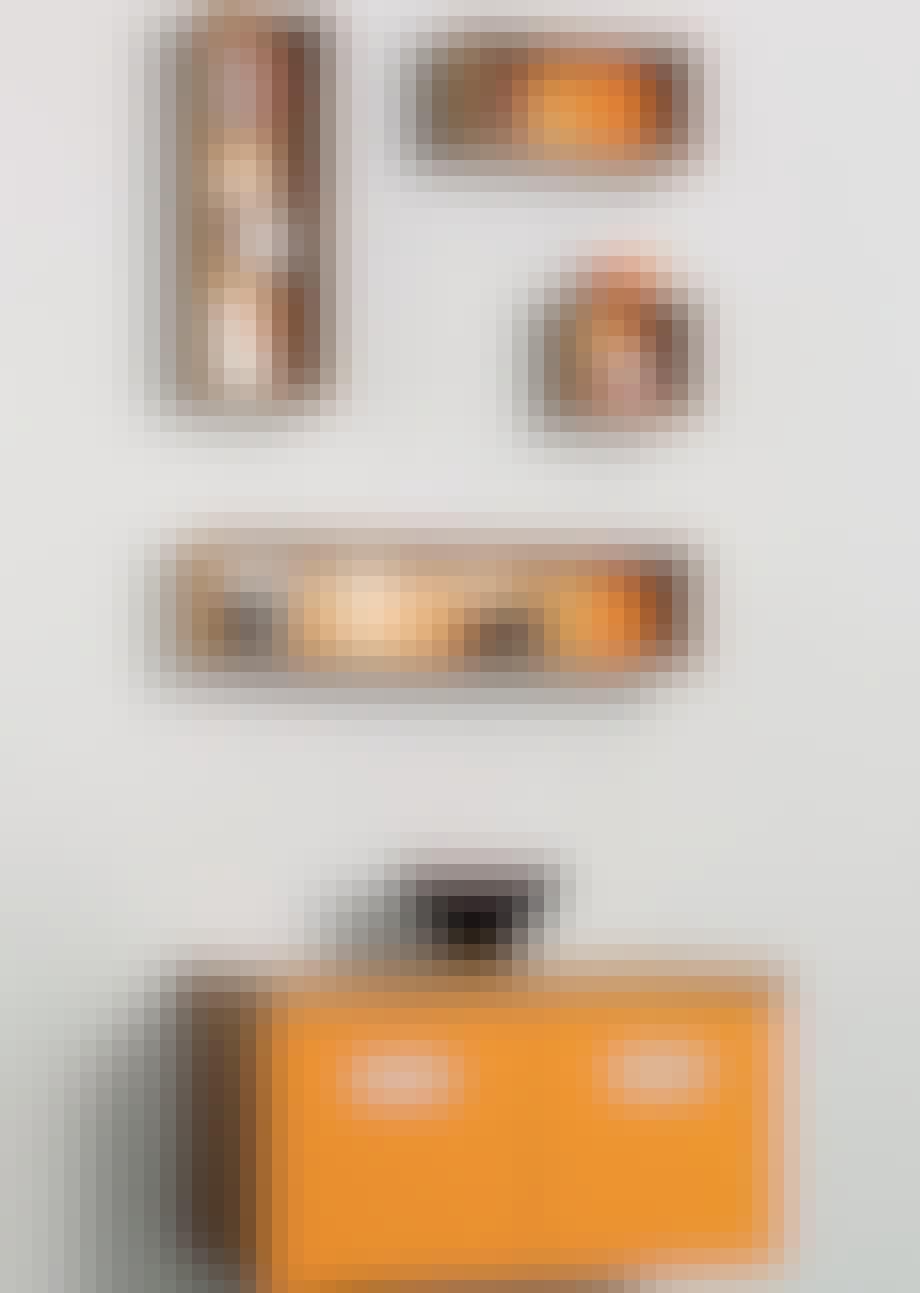 Møbler: Orange kuber