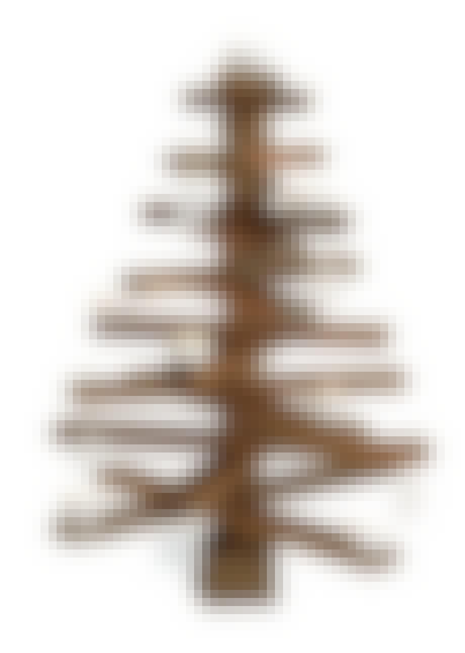 Juletræ i massiv eg
