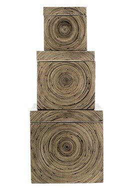 Bokse i bambus