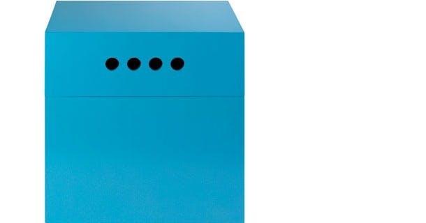 Kasser i klare farver
