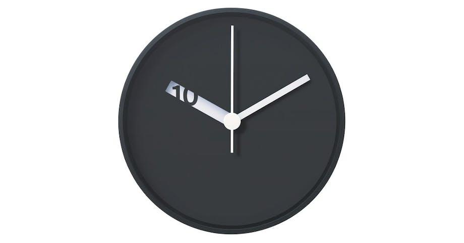 Vægur, Extra Normal Wall Clock