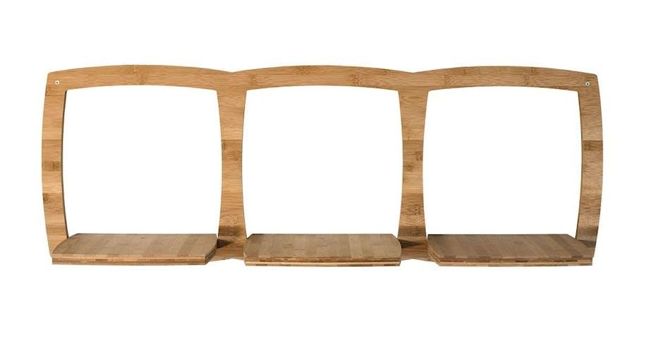 Møbler: Bambushylde