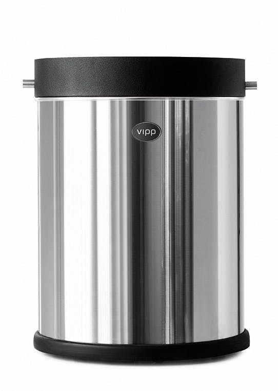 Vipp 51 kontorspand, stainless