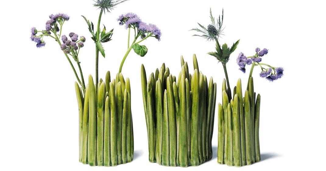 Grass er vasen, der rykker naturen indenfor
