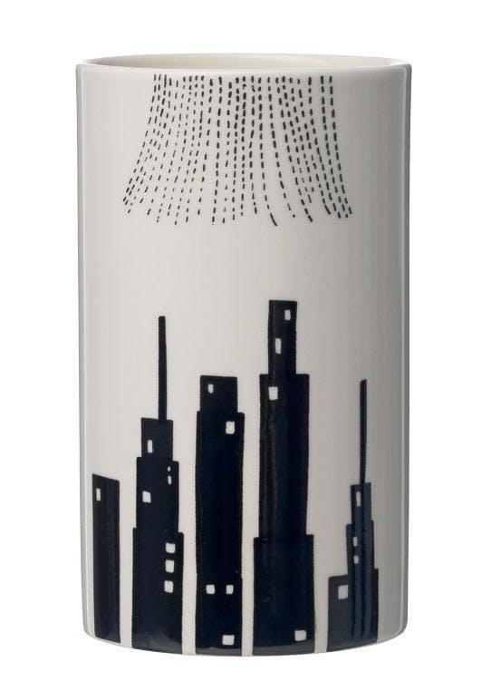 Hånddekoreret vase